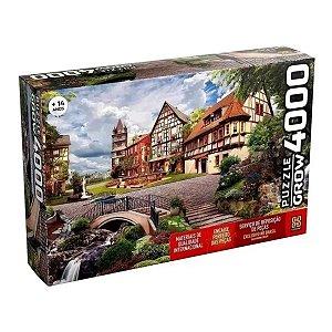 Puzzle Grow 4000 Peças Vila Europeia Quebra Cabeça