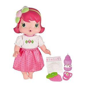 Boneca Baby Moranguinho Faz Xixi