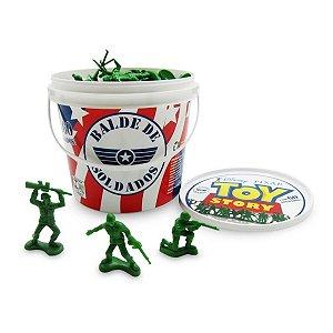 Balde De Soldados Toy Story 60 Peças - Toyng