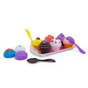 Disney Frozen 2 -  Kit Comidinhas Cupcake - Toyng