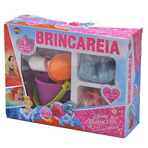 Kit Areia de Brincar Grande Princesas - 38433 - Toyng