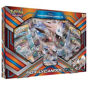 Jogo Deluxe - Box Pokémon - Coleção Premium - Box Lycanroc-GX - Copag