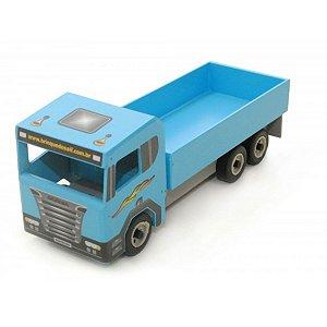 Caminhãozinho Mini Madeira