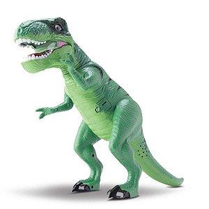 Dinopark Dinossauro Com Som E Luz