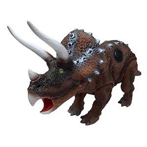 Dinopark Triceratops Com Som