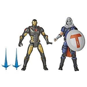 Boneco Marvel Gamerverse - Homem De Ferro Vs. Treinador -  Hasbro