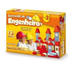 Brincando De Engenheiro 73 Peças