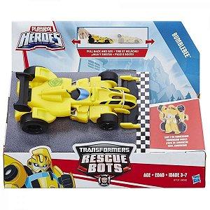 Transformers Rescue Bots - Bumblebee Carro de Corrida - Hasbro