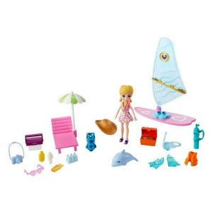 Polly Pocket - Aventura na Praia - Surf - Mattel