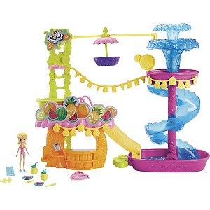 Polly Pocket - Parque Aquático Abacaxi - Mattel