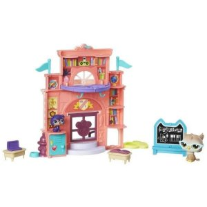 Dia Alegre Na Escola Littlest Pet Shop - Hasbro