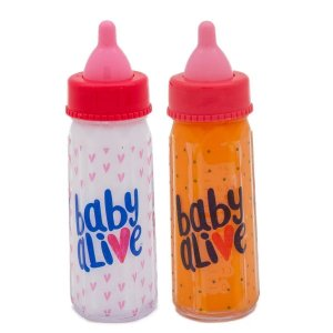 Kit 2 Mamadeiras Mágicas Baby Alive - Toyng