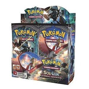Box Pokémon Sol E Lua Sombras Ardentes
