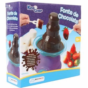 Kids Chef Fonte De Chocolate