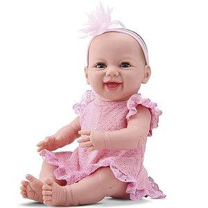 Boneca Newborn Diver Toys Dengo com Acessórios