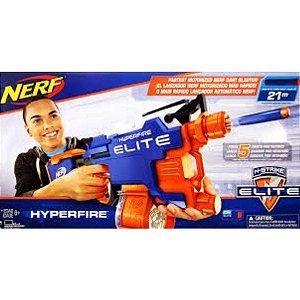 Nerf Hyperfire 5 Dardos Por Segundo