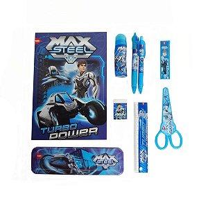 Gift Box Plus Max Steel 9 Peças