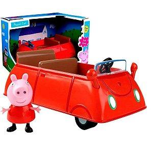 Peppa Pig - Veículo com Boneco - Carro - Sunny