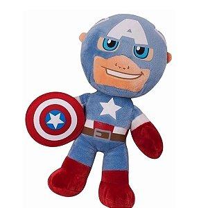 Pelúcia Capitão América Buba Toys