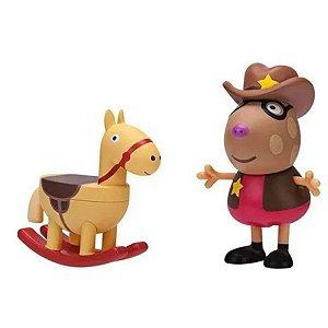Peppa Com Acessório - Pedro O Cawboy 2312 Sunny
