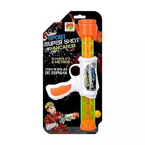 Lançador Super Shot Sport - Dm Toys