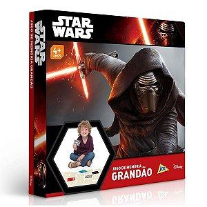 Jogo da Memória Grandão Star Wars - Toyster