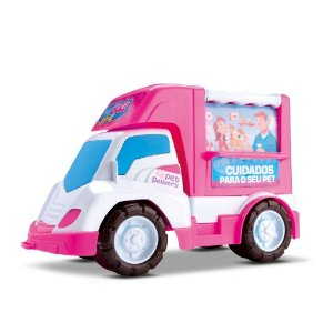 Carro Pet Care Delivery - Samba Toys