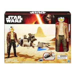 Star Wars Speeder Bike & Poe Dameron - Hasbro