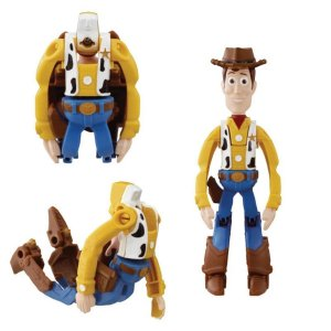 Mini Boneco Hatch'N Heroes Disney Toy Story Woody - DTC