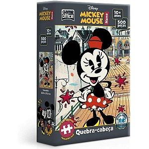 Quebra-cabeça nano 500 peças - Minnie