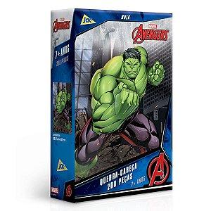 Quebra-Cabeça 200 Peças - Hulk Vingadores