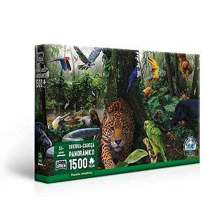 Floresta Amazônica - Quebra Cabeça Panorâmico 1.500 peças