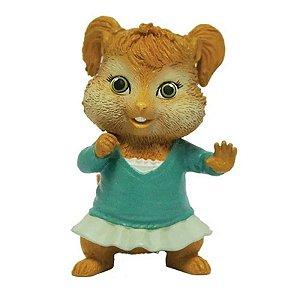 Mini Figura Alvin E os Esquilos Eleanor