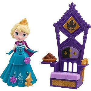 Boneca Disney Frozen - Elsa e Seu Trono - Hasbro