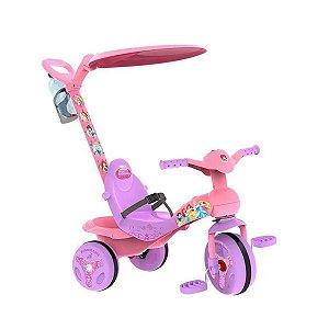 Triciclo com Pedal Bandeirante Veloban Princesas Disney