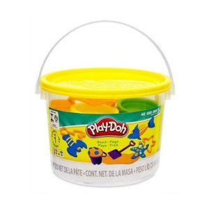 Massinha Play Doh Mini Balde Praia Hasbro