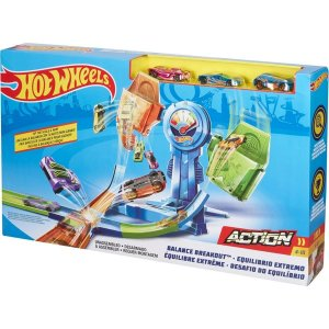 Pista Hot Wheels Cruzada Mortal Balanceada - Mattel