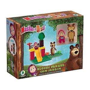 Masha E O Urso LEGO Trenzinho Com Blocos