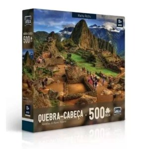 Quebra-Cabeça P500 Machu Picchu - Toyster