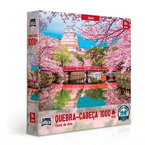 Quebra Cabeça Cores Da Asia Japao Peças 1000 - Toyster