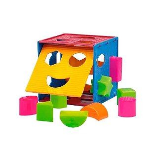 Cubo Didático Colorido - Paki Toys