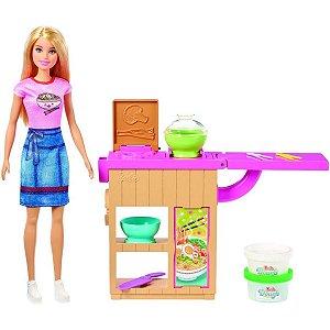 Boneca Barbie - Máquina de Macarrão