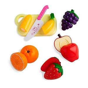 Mini Feirinha De Frutas Com Velcro