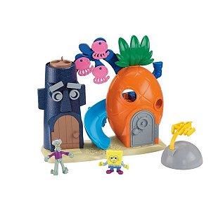 Imaginext Bob Esponja Casa Abacaxi  - Mattel