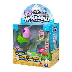 Hatchimals Colleggtibles - Playset Toboágua e Figura Surpresa - Sunny