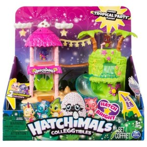 Hatchimals Colleggtibles Playset Ilha Tropical - Sunny