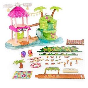 Hatchimals Colleggtibles Playset Ilha Tropical - Sunny