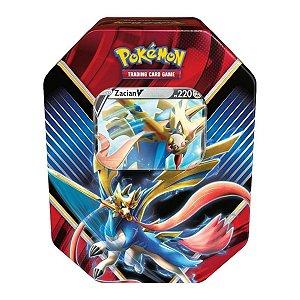 Lata Pokémon Zacian V Lendas De Galar - Copag