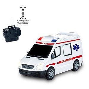 Carro Controle Remoto Ambulância - Zoop Toys