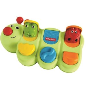 Lagarta Surpresa Fisher Price